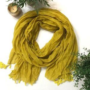 Target Scarf Mustard Yellow